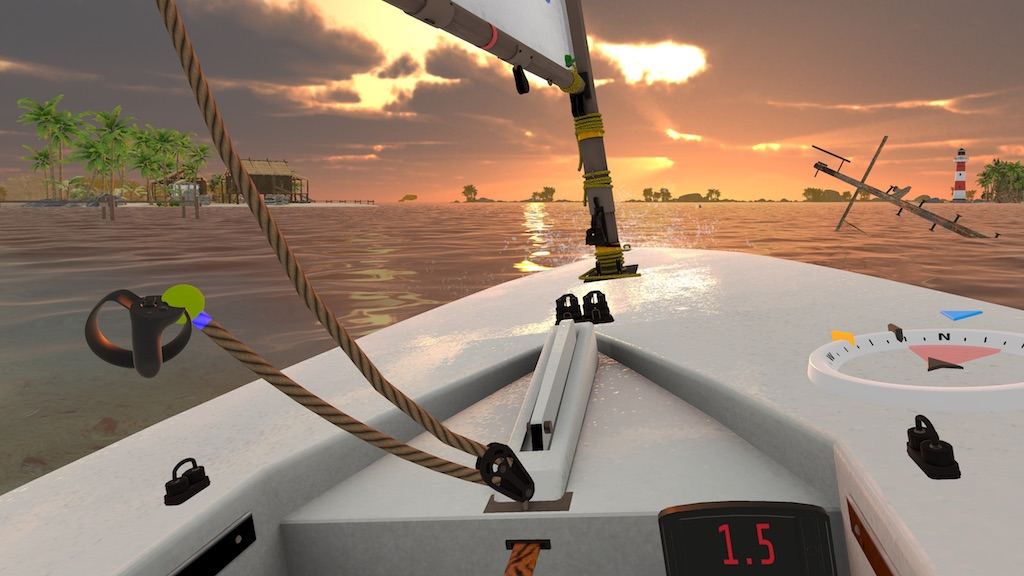 Relax with VR Regatta